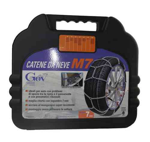 Catene da neve GEV M7 7mm 19""